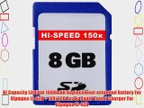 8GB Accessory Kit For Olympus VR-320 VR-310 Digital Camera Includes 8GB High Speed SD Memory