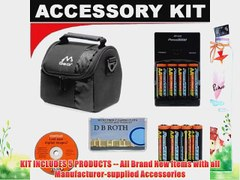 Deluxe Accessory Kit With 8 AA Rechargeable Batter