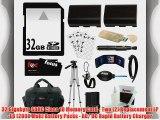 Essential Accessory Kit for the Canon DSLR EOS 5D EOS 60D EOS 6D EOS 7D   32GB SDHC C10   2