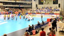 TQO - Lyon-Women's Handball-Romania-France 19-24-teams presentation and anthems 24.05.2012