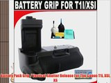 Battery Pack Grip / Vertical Shutter Release For The Canon T1i XSI XS