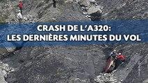 Crash de l'A320: Les dernières minutes du vol