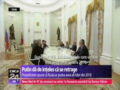 Vrajeala a la Putin Putin a lasat sa se inţeleaga ca ar put