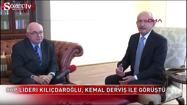 CHP lideri Kılıçdaroğlu, Kemal Derviş ile görüştü