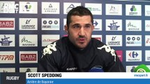 """Rugby / Top 14 - Spedding : """"Le Racing Métro, l'une des meilleures équipes européennes"""" 26/03"""