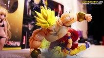 Dragon Ball Z Stop motion  - Sangoku VS Broly