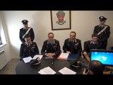 Teverola (CE) - Omicidi, droga e intimidazione al sindaco, 19 arresti - conf.stampa (18.03.15)