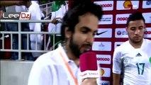 Youcef Belaili après le match amical - Algérie 0-1 Qatar
