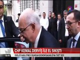 CHP Kemal Derviş ile el sıkıştı Derviş Vekillik teklifini kabul etmedi