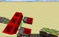 Minecraft Redstone Tutorial #1 Redstone Slimeblock Car 1.8