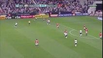 Paolo Guerrero marcó su gol 50 con Corinthians y celebró con bandera peruana