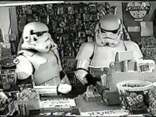 Funny-Trooper clerks Star Wars Clerk