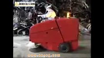 Video, Boxer, sweeper machine for big areassales scrubbers, sweepers, street sweepers trade, vacuum