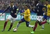 France-Brésil (France-Brasil) : 1-3, buts et résumé