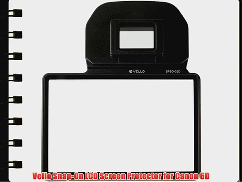 De Larmor protector de pantalla para CANON 6D