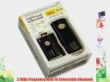 SMDV RFN-4 Wireless Remote Shutter Release Cable for Nikon D90 D3100 D3200 D5000 D5100 D7000