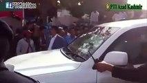 Chairman PTI Imran Khan reached Jalsaga in Mirpur Azad Kashmir (March 25, 2015 - 345 PM)