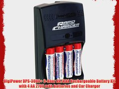 DigiPower DPS 3000 3 Hour AA AAA Rechargeable Batt