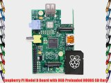 Raspberry Pi Model B Board with 8GB Preloaded NOOBS SD Card