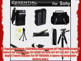 Essential Accessories Kit For Sony Alpha SLT-A58K SLT-A99V SLT-A65 SLT-A77 SLT-A57 a58 DSLR