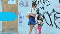 Katie Holmes and Suri Cruise Apply Makeup Together