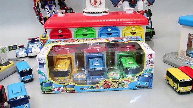 타요 꼬마버스 타요 슈팅카 버스 폴리 뽀로로 장난감 Tayo the Little Bus мультфильмы про машинки Робокар Поли Игрушки Toys