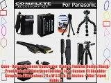 Advanced Accessory Kit For Panasonic Lumix DMC-FZ200 DMC-G5 DMC-GH2 DMC-G6KK Digital Camera