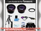 Lens Bundle For Panasonic HDC-TM700K HDC-SD600 HDC-HS700K HDC-SDT750K HDC-TM900 HDC-HS900 HDC-SD800