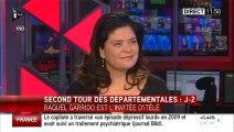 """""""Bons résultats pour les listes citoyennes"""" Raquel Garrido sur I-TELE"""