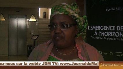 Nous osons espérer que cette fois-ci nos parents accepterons que la paix revienne - Mme Diallo Déidia Mahamane Kattra