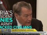 Syrian President Bashar Al-Assad Denies His Army Attacked Civilians