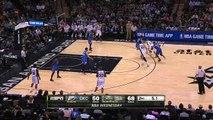 Kawhi Leonard Buzzer Beater - Thunder vs Spurs - March 25, 2015 - NBA Season 2014-15