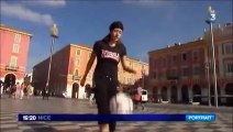 Alice Fougeray - Vice championne du monde de Freestyle Football (Reportage France 3) - www.freestyleworldfootball.com