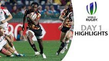 Big teams start off strong Hong Kong Sevens Highlights