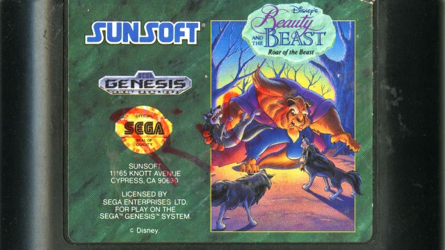 CGR Undertow - BEAUTY AND THE BEAST: ROAR OF THE BEAST review for Sega Genesis