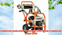 Generac 5993 3100 PSI 2.8 GPM 212cc OHV Gas Powered Pressure Washer (Discontinued by Manufacturer)