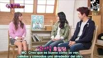 IU & Hyun Woo-One Night of TV Entertainment [Sub Español] Cut