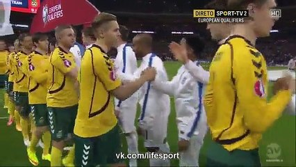 England vs Lithuania 4-0 (All Goals and Highlights) Europ 2016 Qualification