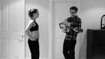 Babadan Doğmamış Bebeğine Müzik