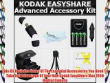 Essential Accessories Bundle Kit For Kodak EasyShare Max Z990 Z5010 Z5120 Digital Camera Includes