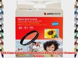 AGFA 67mm Digital Multi Coated Ultra Violet (UV) Filter (Protector) APUVF67