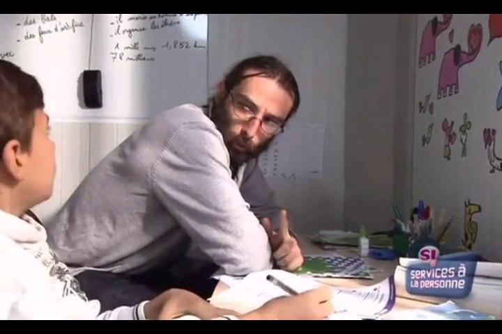 Olivier enseignant à domicile