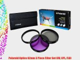Polaroid Optics 62mm 3 Piece Filter Set (UV CPL FLD)