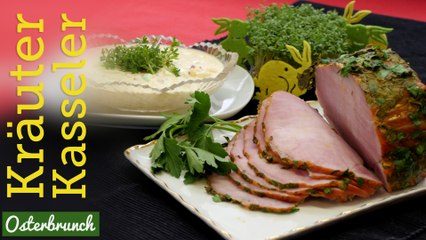 Rezept - Kräuter-Kasseler - Osterbrunch (Red Kitchen - Folge 320.1)