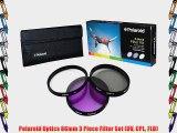 Polaroid Optics 86mm 3 Piece Filter Set (UV CPL FLD)