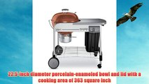 Weber 1482001 Performer Platinum Charcoal Grill Copper
