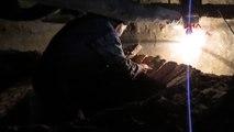 Sandıklı 50 Yıllık Taş Fırın Ustası Mesleğini Oğluyla Yaşatmaya Çalışıyor
