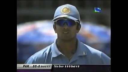 SHAHID 'BOOM BOOM' AFRIDI - THE KING OF SIXES - 9 VS INDIA 2005
