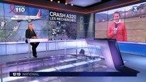 Les recherches s'intensifient sur la zone du crash de l'A320 de la Germanwings