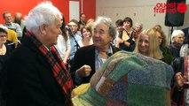 Pierre Perret inaugure la Maison Pierre Perret au Mans
